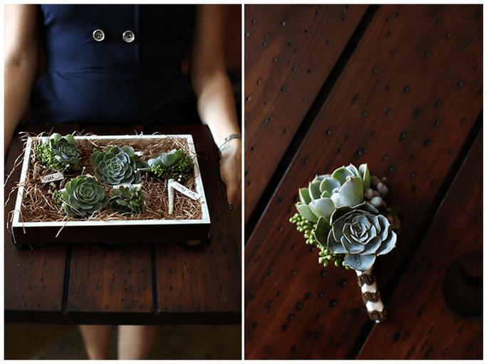 4 idee originali per le vostre decorazioni di nozze con piante grasse