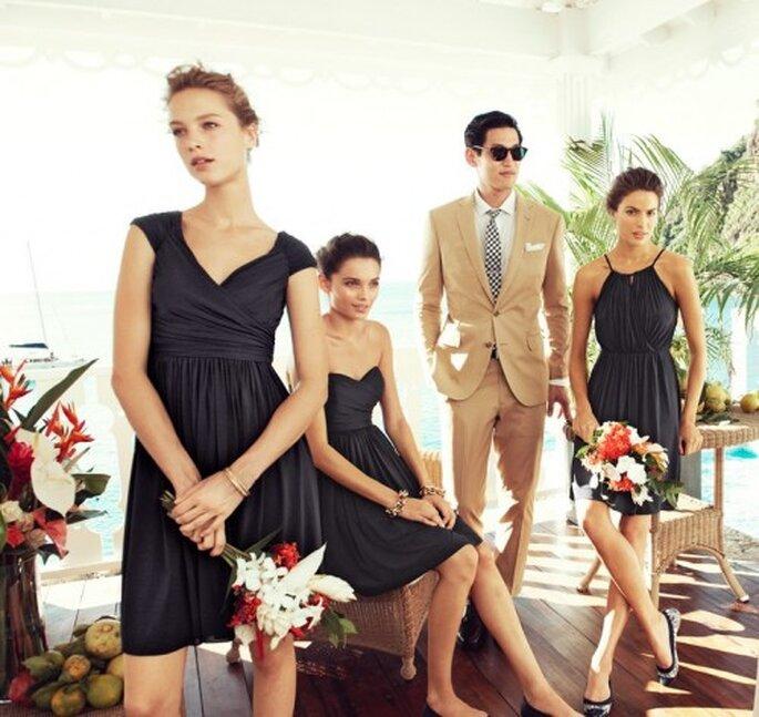Vestidos elegantes para una boda en primavera-verano 2013 - Foto J.Crew Facebook