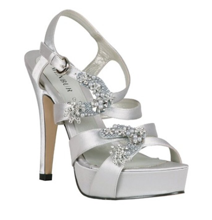 Scarpe da sposa Menbur 2011