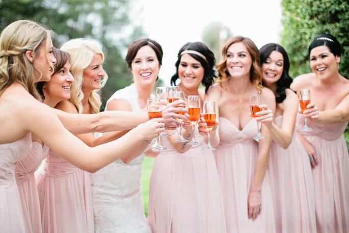 Damas de honor para la boda. Foto-Sposto Photography