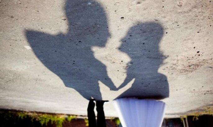 Ideas brillantes para fotos de boda. Foto