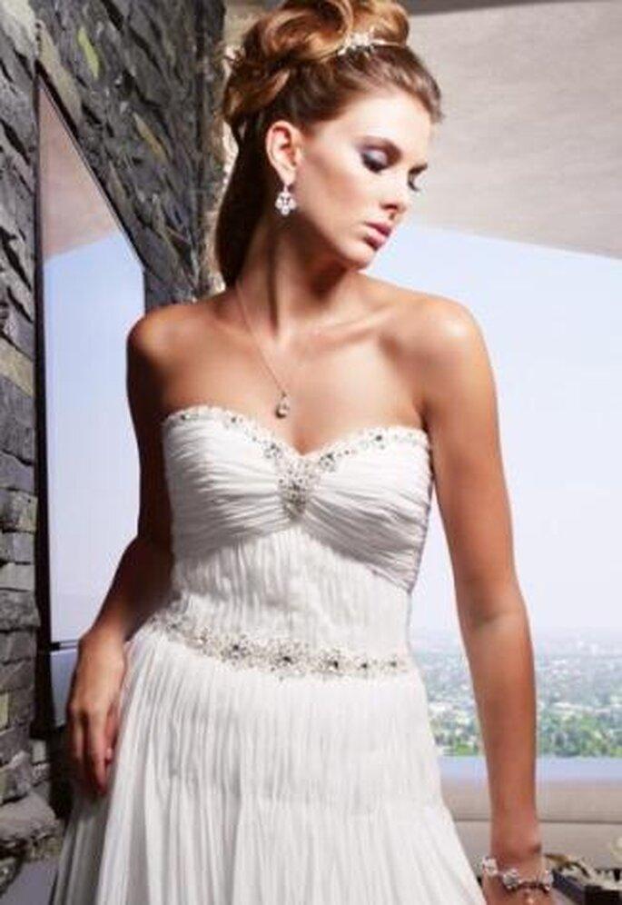 Un vestido ligero y tu maquillaje muy natural!