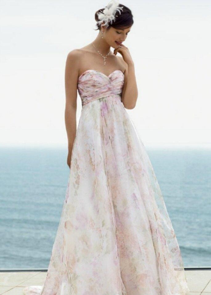 Un modello di David's Bridal