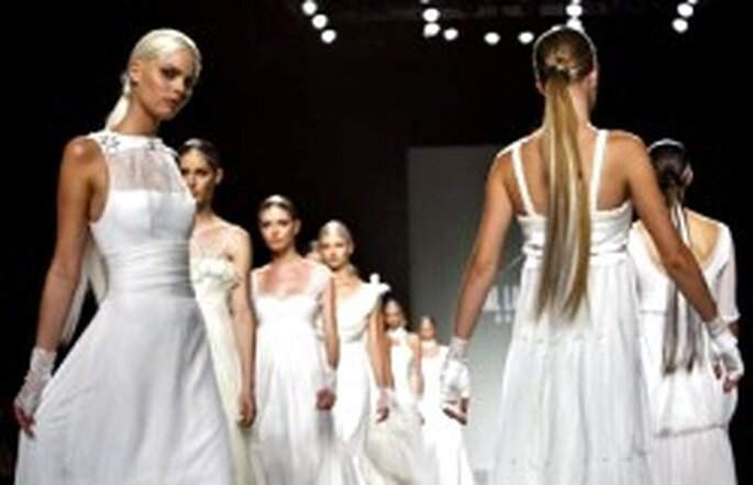 Colección de vestidos de novia Karl Lagerfeld 2007