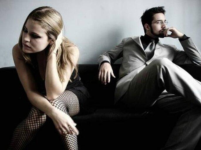 Es más frecuente encontrarse con matrimonios jóvenes que duran muy poco.