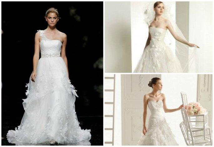 Heiraten wie eine echte Prinzessin. Fotos: Pronovias, Suknie Slubne, Rosa Clará