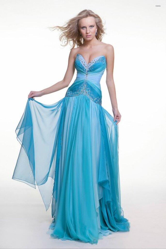 Robe de soirée longue Oksana Mukha 2012, modèle Melia