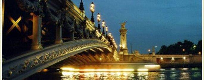 Mariage sur la Seine, quoi de plus romantique ?