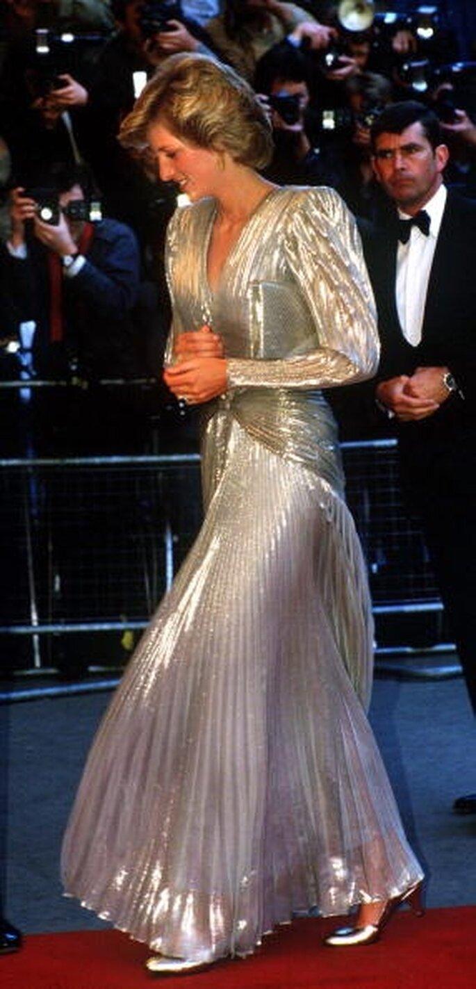 Prinzessin Diana in einem Brude Oldfield Modell 1985