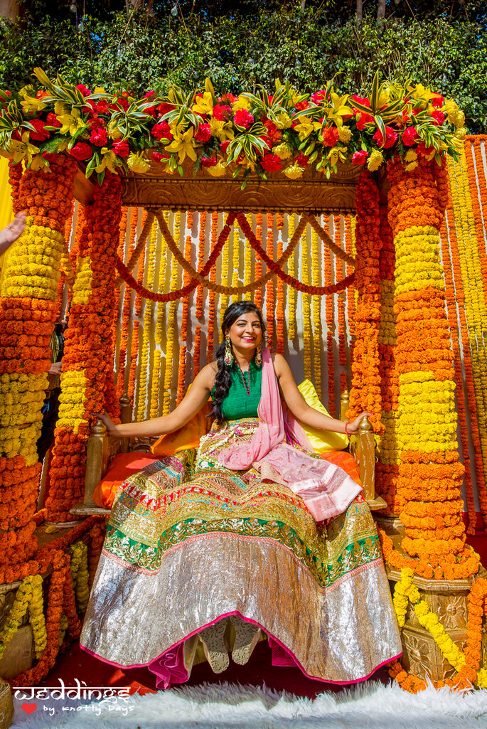 How To Choose The Most Luxurious Decoration For Your Haldi