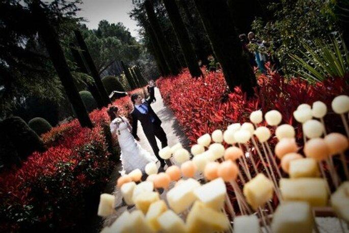 Después de la boda para el albúm familiar.  Foto:Cecs Giralt
