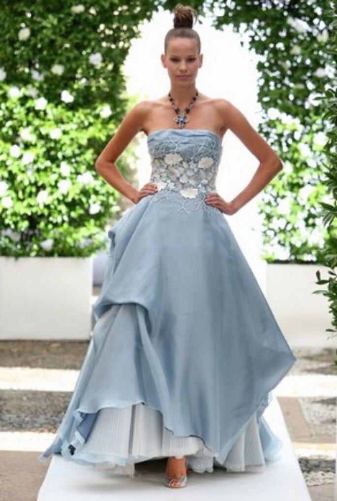 Vestido de novia azul - Bellantuono