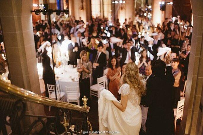 Le choix de la salle de réception du mariage est un point majeur - Photo : Gus Hildebrandt