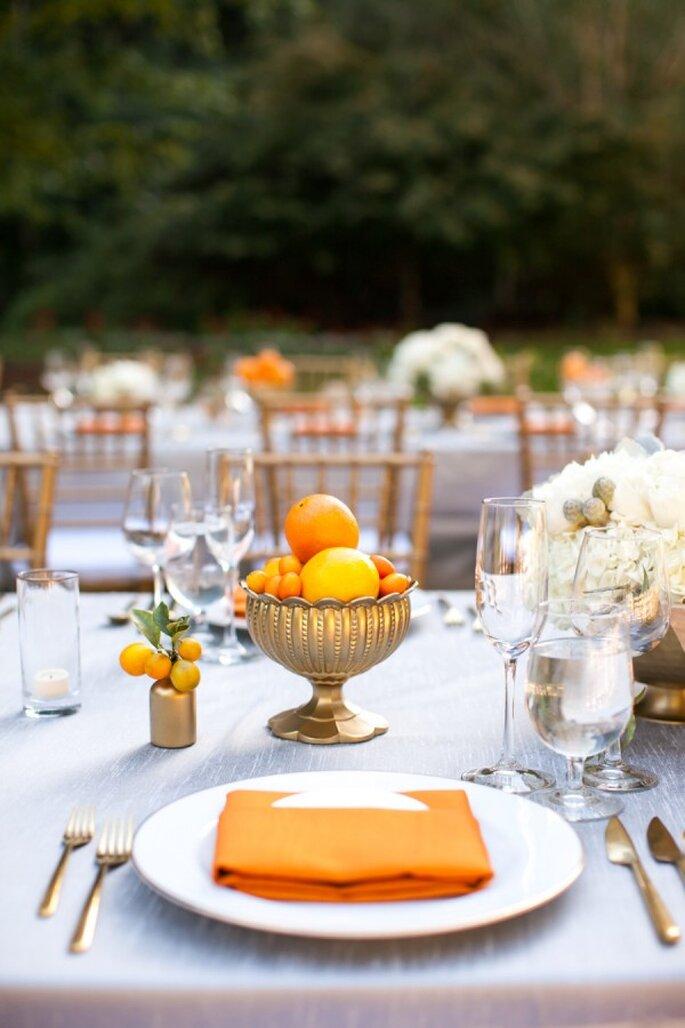 Los colores perfectos para decorar una boda en 2015 - Foto Sabine Scherer Photography