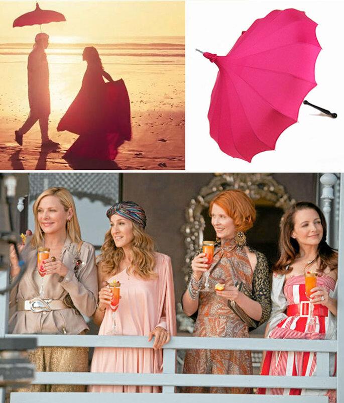 Il tocco magico: l'ombrellino di Sarah J. Parker