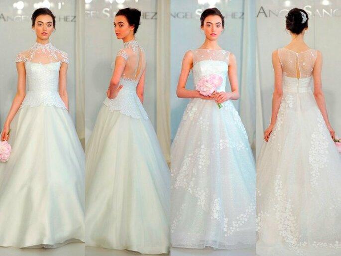 Vestidos de novia con escote en la espalda - Foto Ángel Sánchez