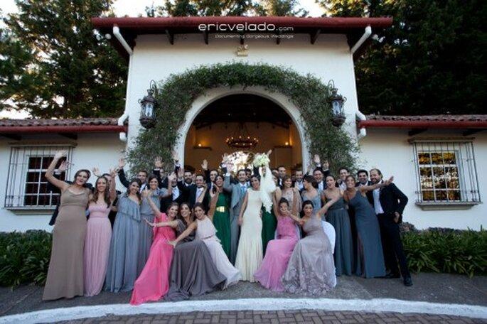 Organiza la sesión de fotos en familia durante la boda - Eric Velado