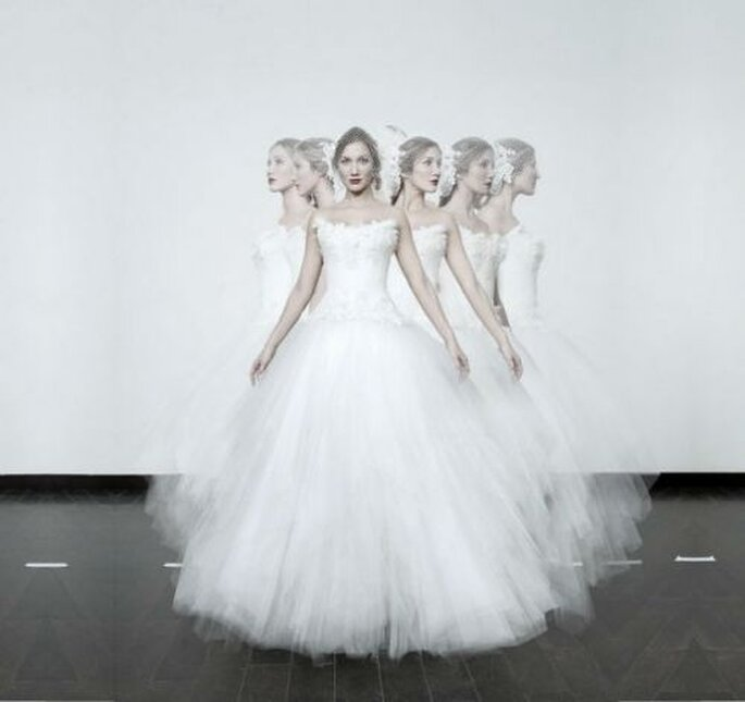Nicolas Fafiotte : des robes de mariée sur mesure, made in France