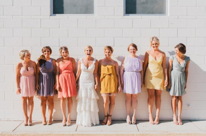 Decoración de boda en coral, rosa y gris. Fotografía Sweet little photographs
