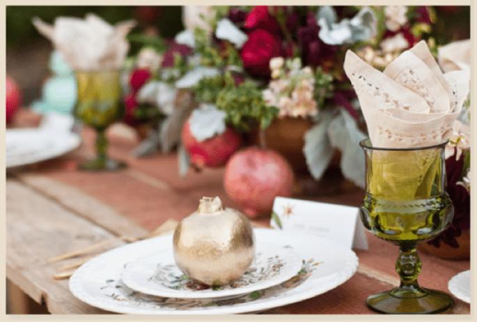 Idées pour décorer votre mariage avec des fruits - Photo Meghan Christine