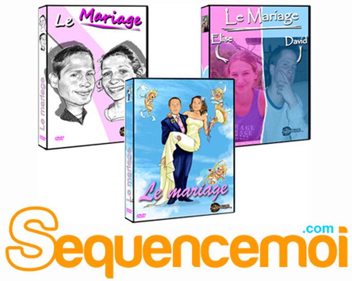 Film personnalisé mariés