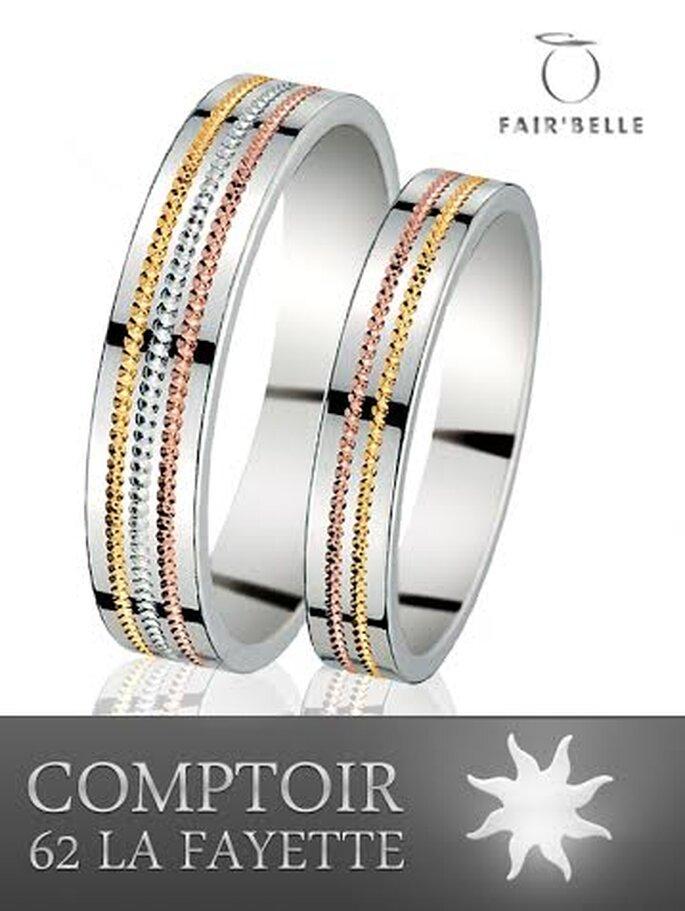 Alliances de mariage et bagues de fiançailles : Comptoir 62 La Fayette