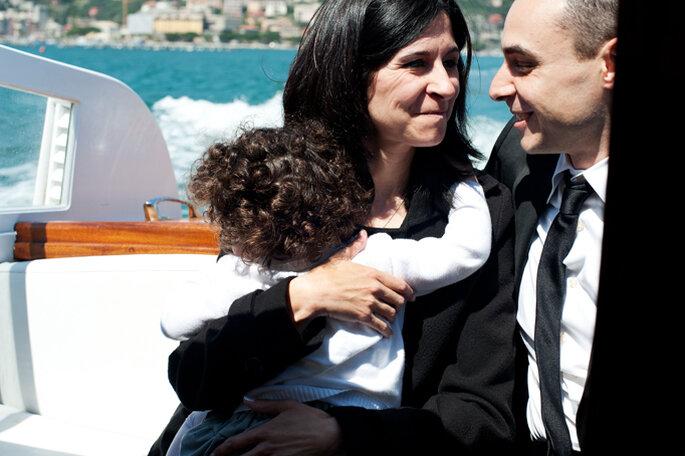 Tiziana e Francesco. Foto: Silvia Taddei