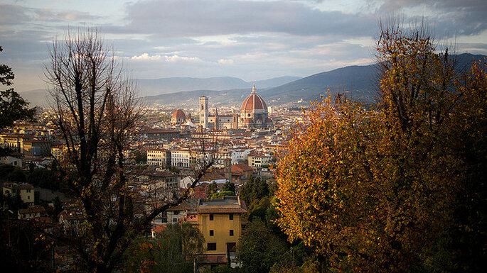 Vista de Florencia desde San Miniato al Monte. Foto: Flickr - Untipografico