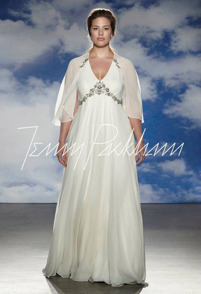 Vestidos de novia para chicas con talla grande - Jenny Packham