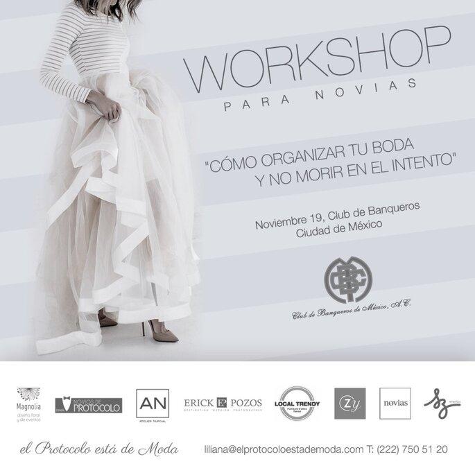 Segunda edición Workshop para novias en Club de Banqueros