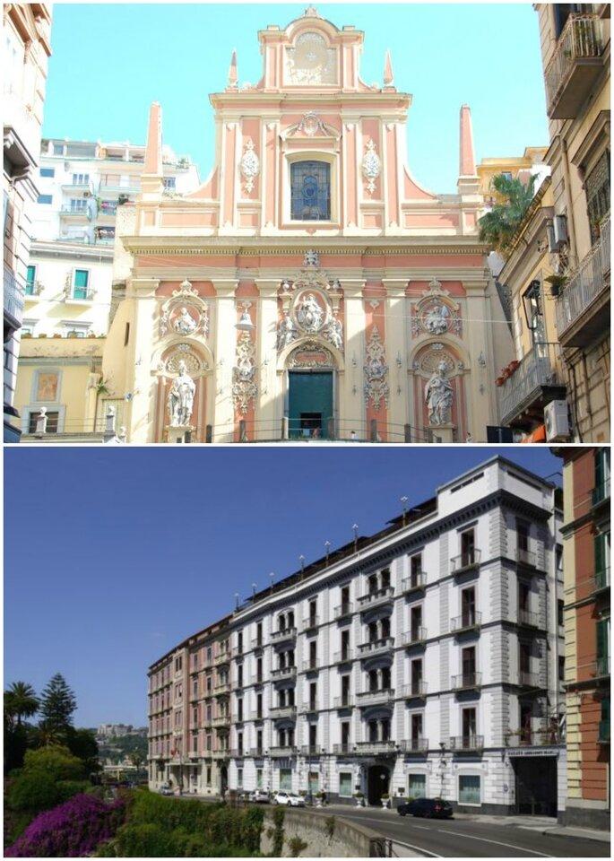 Chiesa di Santa Teresa a Chiaia e Grand Hotel Parker's