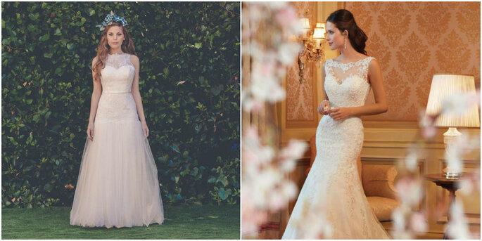 Créditos: foto izquierda de Divina Señorita/ foto derecha de Divino Vestido