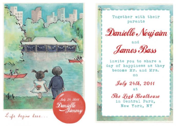 Invitaciones originales para que tu boda sea única y perfecta - Foto Sweet Little Photographs