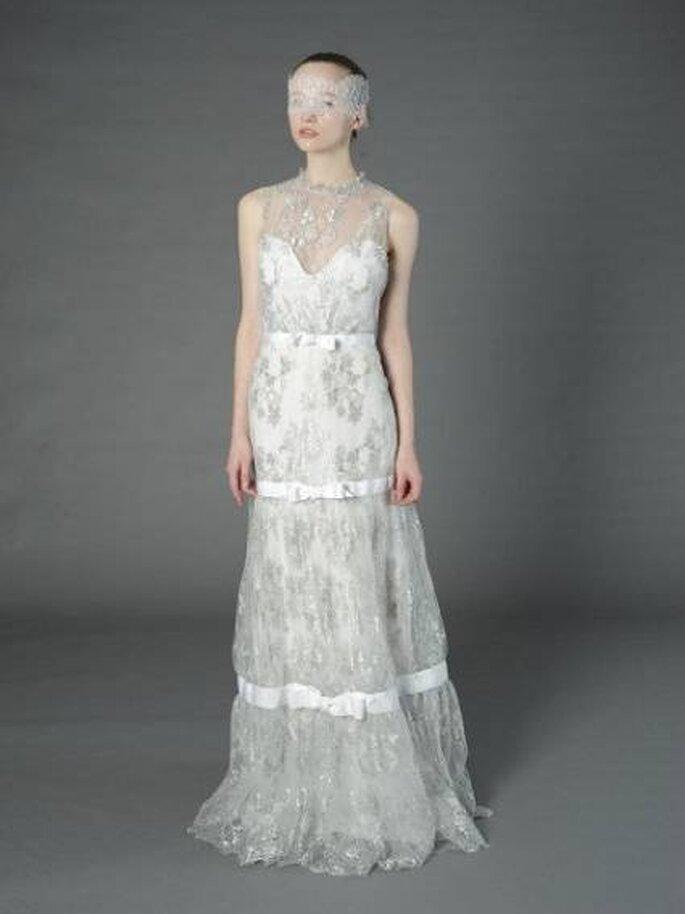 Brautkleid für Romantikerinnen - Foto Douglas Hannant