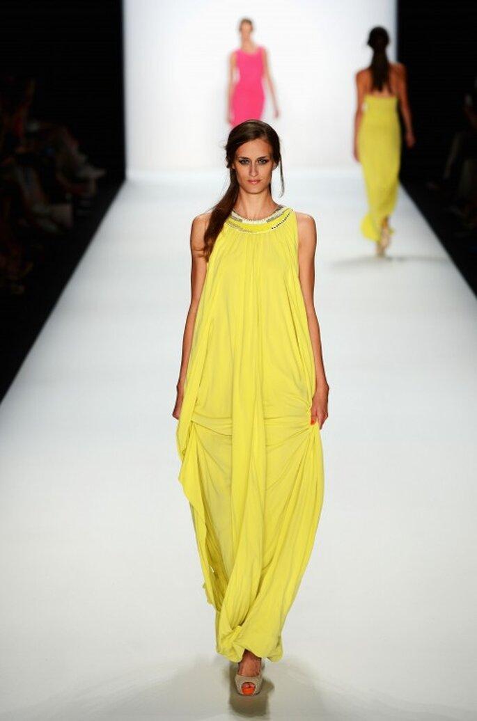 Laurel: Runway - Mercedes-Benz Fashion Week Primavera/ Verano 2013. Fotografía Image.net