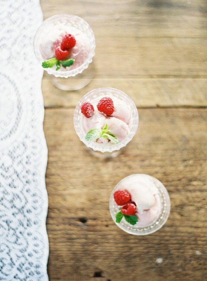 Los helados serán la sensación el día de tu boda - Foto Anne Robert