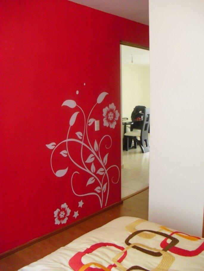 Ideas para el dise o de interiores de tu nueva casa con for Vinilos pared pasillo