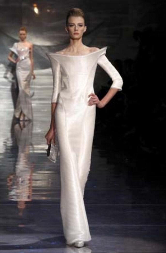 Hochzeitskleid aus Armanis 2011er Kollektion
