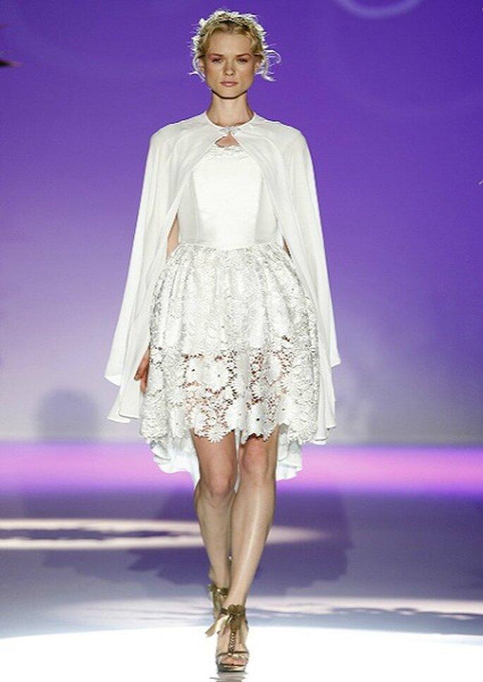 Robe de mariée courte Carla Ruiz 2013