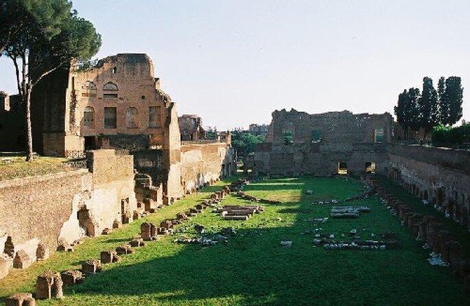 En Roma podrás conocer la belleza del Palatino...