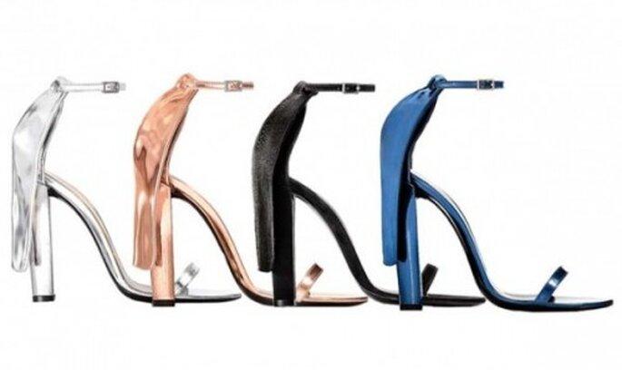 Tendencias en Zapatos primavera verano 2012 para una boda de día. Foto Alexander wang