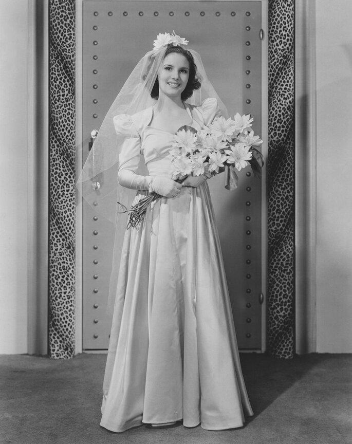 Novia con ramo. Foto: Everett Collection