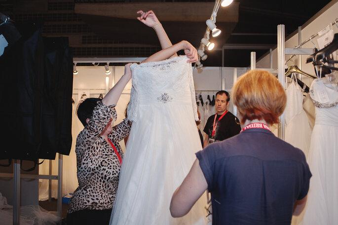 Backstage Barcelona Bridal Week