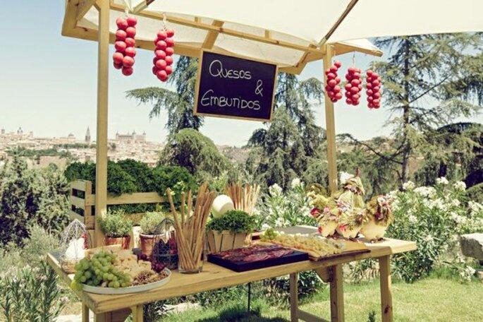 El buffet en tu boda, una idea genial para el banquete - Foto 3 deseos y medio