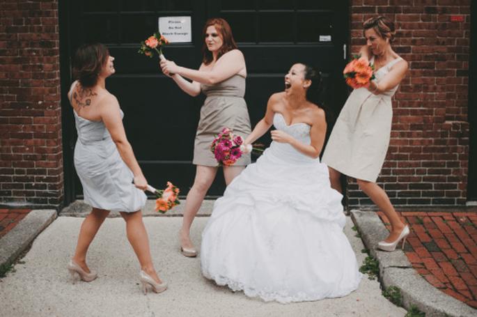 Colores de moda pra vestidos de damas de boda 2013. Fotografía Alexandra-Roberts