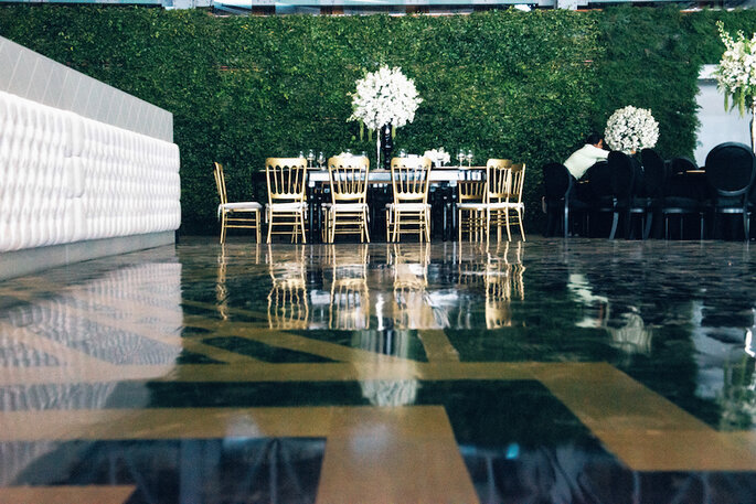 Una boda encantadora con decoración estilo Gatsby - Foto Viviana Cardona
