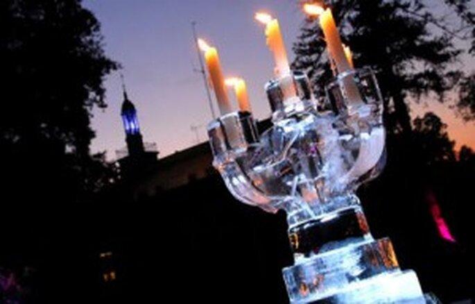 Iluminación mágica para tu boda de cuento de hadas