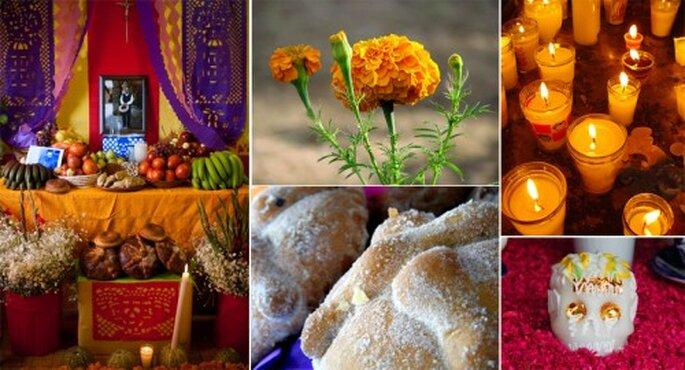 Día de muertos, una tradición mexicana para decorar tu boda - Foto Eneas, adels, gabofr, Ani Carrington, Zylenia en Flickr