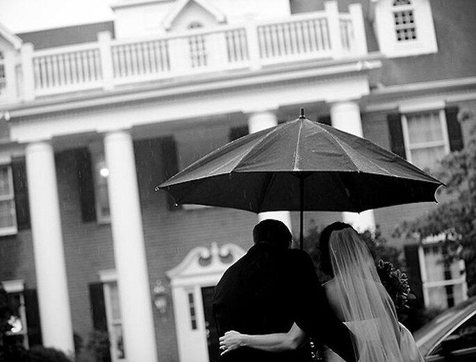 La lluvia puede darle a tus fotos un aspecto mágico. Foto: Carla Ten Eyck