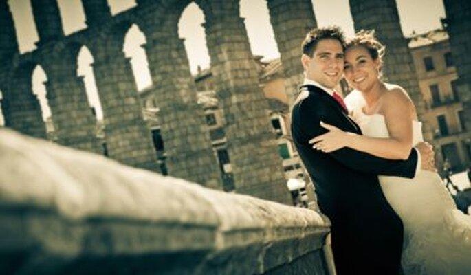 Bodas como la tuya: Eva y Carlos en Segovia - Adrián Tomadín